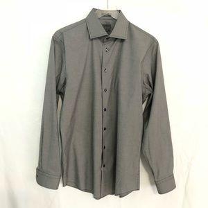 Calibrate Men's Trim Fit Long Sleeve Shirt